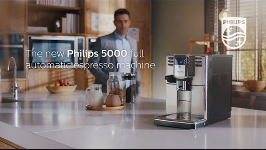 Philips Series 5000 full automatic espresso machine | Lifestyle video